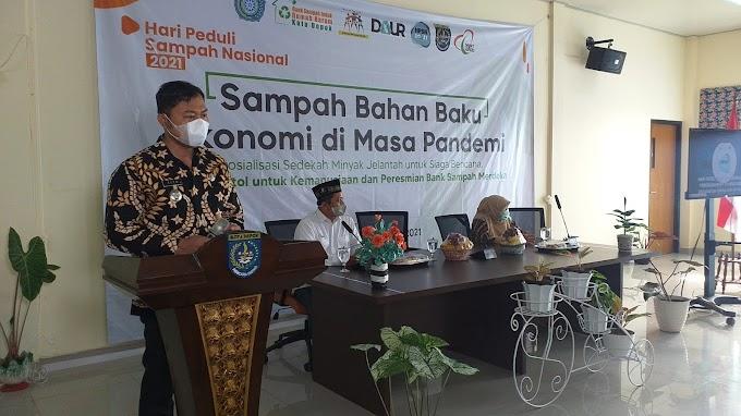 Peringati HPSN, Kecamatan Sukmajaya Pelopori Gerakan Peduli Sampah