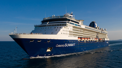 Celebrity Cruises Increases Gratuities Fleet Wide.  Celebrity Summit Sails From New York Cape Liberty New Jersey