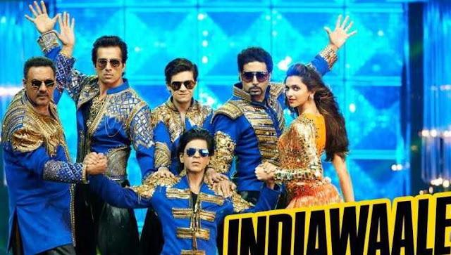 Happy New Year - Hum India wale (हम इंडिया वाले) Lyrics- Sharukh & Deepika