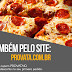 Já pensou em pedir sua pizza Provata online? Agora é possivel!