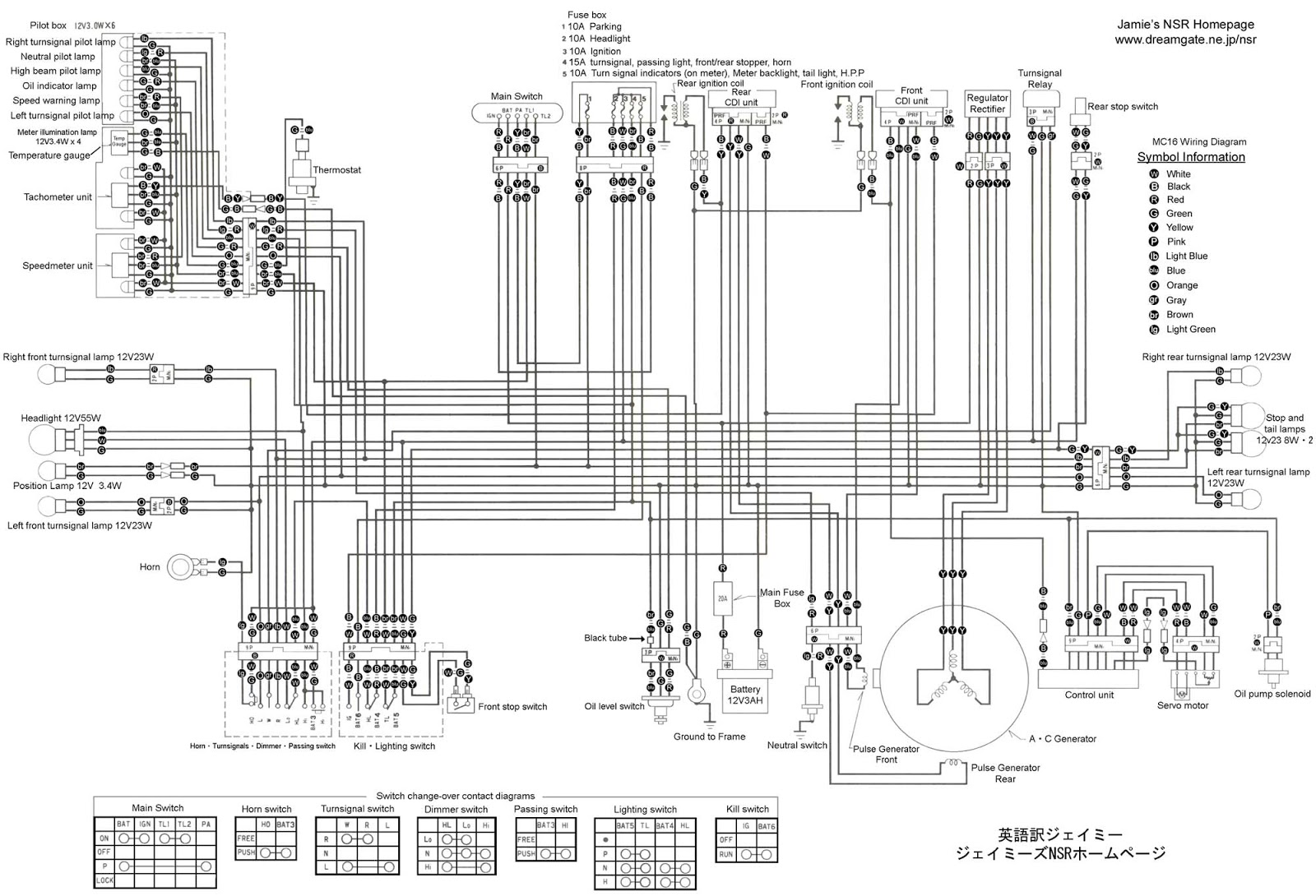 Nsr Salatiga Wiring Diagram Honda Series Cr 125 Cdi Ignition System Schematic 250 Mc 16
