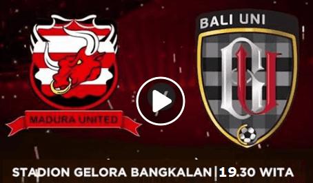 Link Live Streaming Madura vs Bali United