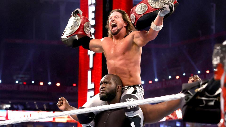AJ Styles e Omos conquistam o RAW Tag Team Championship