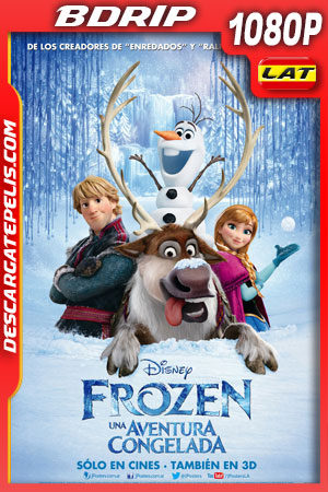Frozen: Una aventura congelada (2013) 1080p BDrip Latino – Ingles