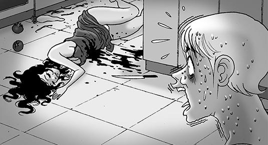Silent Horror chap 106: Người chồng giết vợ