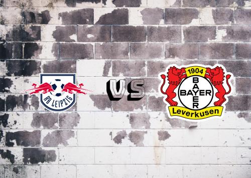 RB Leipzig vs Bayer Leverkusen  Resumen