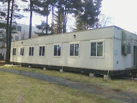 Used modular classrooms and modular buildings sold by churches and schools.