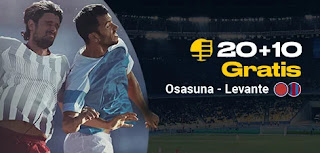 bwin promocion Osasuna vs Levante 24 enero 2020