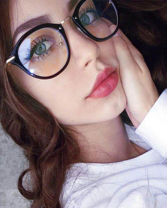 Fotos tumblr con lentes que te haran ver angelical