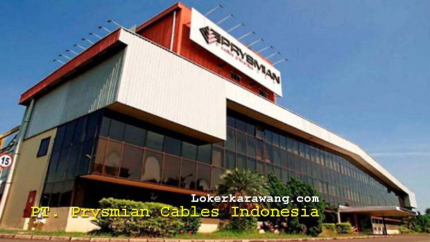 Lowongan Kerja PT. Prysmian Cables Indonesia Kawasan Industri Indotaisei