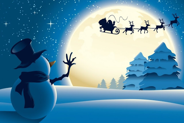 merry Christmas Santa Claus wallpaper