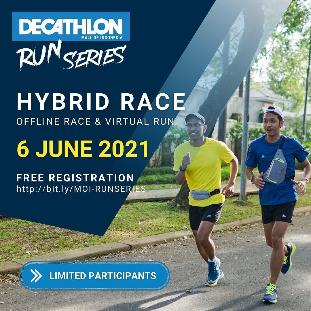 Decathlon Mall of Indonesia Run Series • 2021