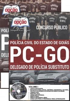 Apostila Polícia Civil de Goiás 2016 PCGO Delegado