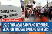 Seorang Pria Tewas Berlumuran Darah di Jalan Simojawar V Surabaya