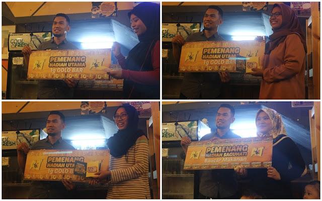 Majlis Penyampaian Hadiah Peraduan Makan & Menang Di A&j Burger Grill, Sg Buloh.
