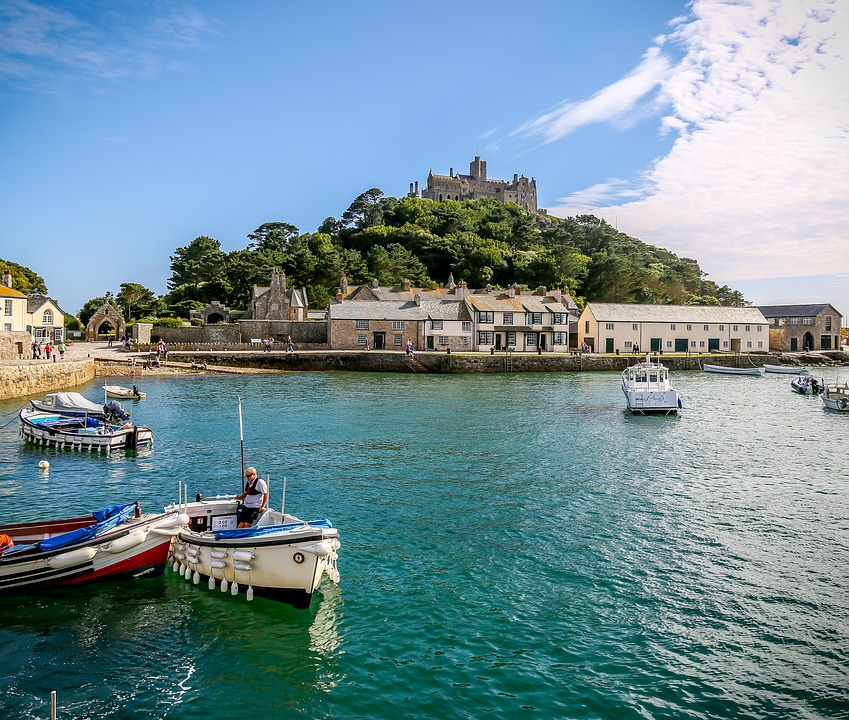Driving to Cornwall from Newcastle with Kids | Our nine day itinerary for February Half Term - St Michael's Mount