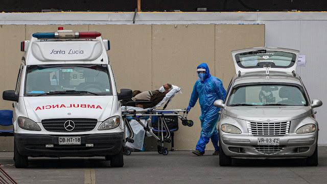 Chile supera los 100.000 casos de coronavirus y registra 59 muertes en 24 horas, la cifra más elevada desde el inicio de la pandemia