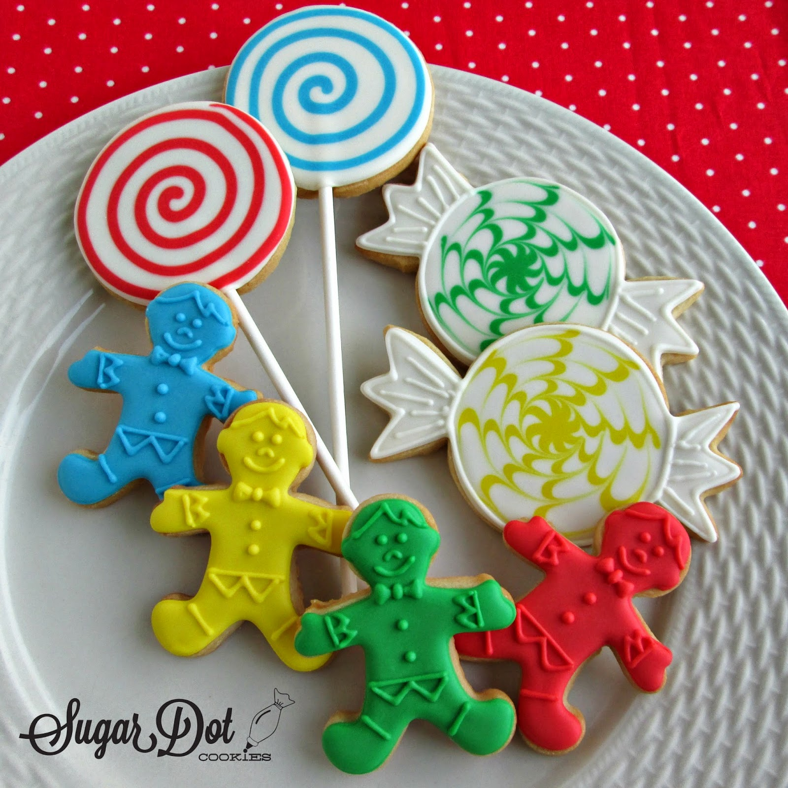 sugar dot cookies candyland cookies