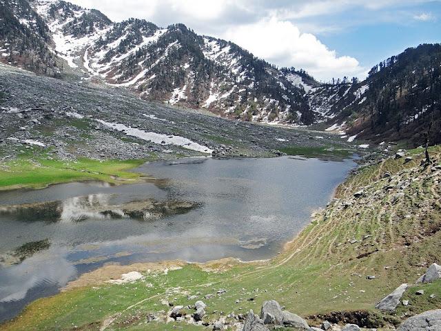 Lam Dal lake