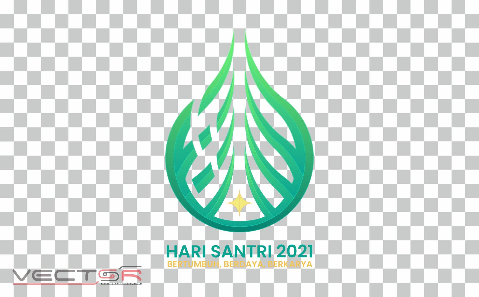 Hari Santri 2021 RMI-NU Logo - Download .PNG (Portable Network Graphics) Transparent Images