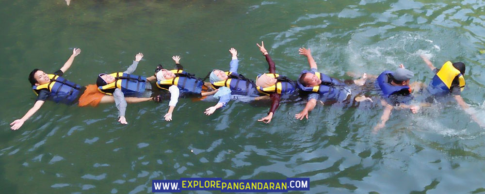 arung sungai body rafting wonderhill jojogan