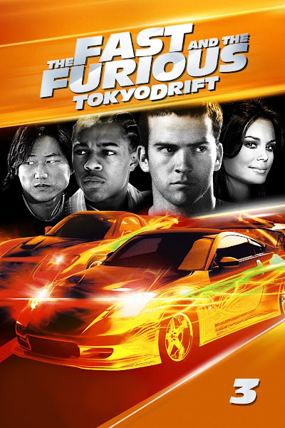 Poster of The Fast and the Furious 3 Tokyo Drift (2006) Dual Audio [Hindi-DD5.1] 1080p BluRay ESubs Download