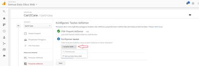 Cara Menautkan Akun Adsense Dengan Google Analytics