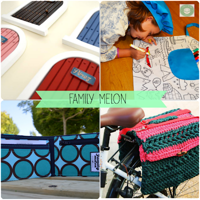Family melon Collage