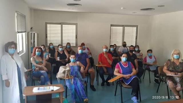 """Εκπαιδευτικό πρόγραμμα: """"Ψυχικά πάσχοντες νοσηλευόμενοι ασθενείς"""" στο Νοσοκομείο Άργους"""