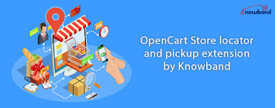 OpenCart store locator and pickup extension