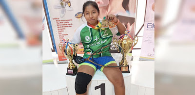 Nicol Mancilla, campeona en 12 años