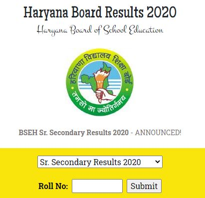 image: HBSE 12th Result March 2020 @ TeachMatters