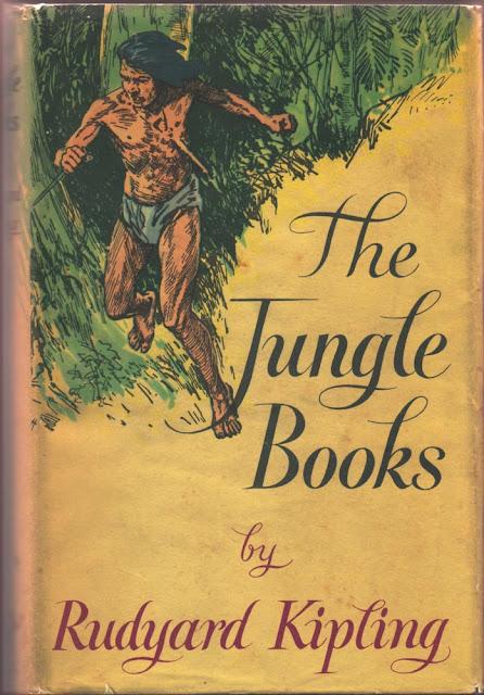 Otra portada de El Libro de la Selva del año 1955 en la que sale Mogli