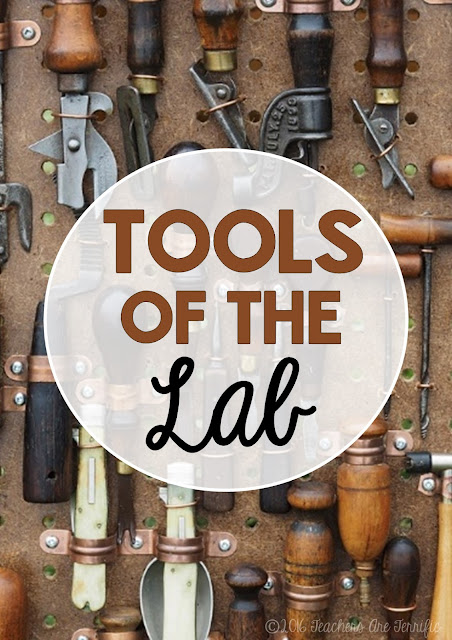 Tools fof the Lab: Here's a fabulous post about incidents we have had that prompted me to start using some tools for safety's sake!
