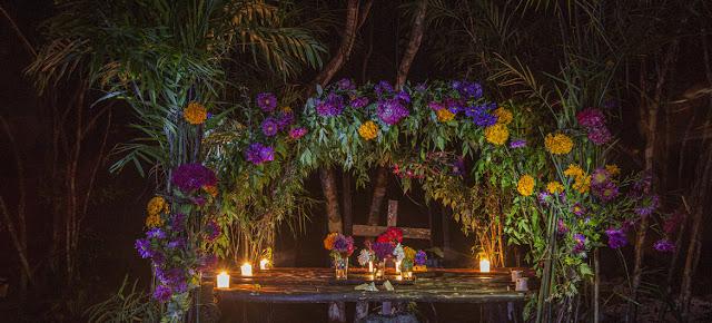 Altar del Día de Muertos en Tres Reyes, Quitana Roo, MexicoBrenda Islas @brendaislas