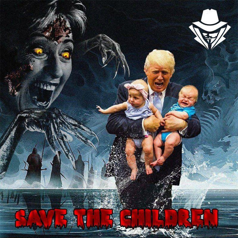 Adrenochrom Kinder