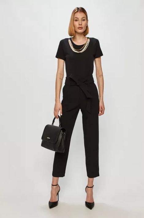 Pantaloni negri eleganti petnru birou