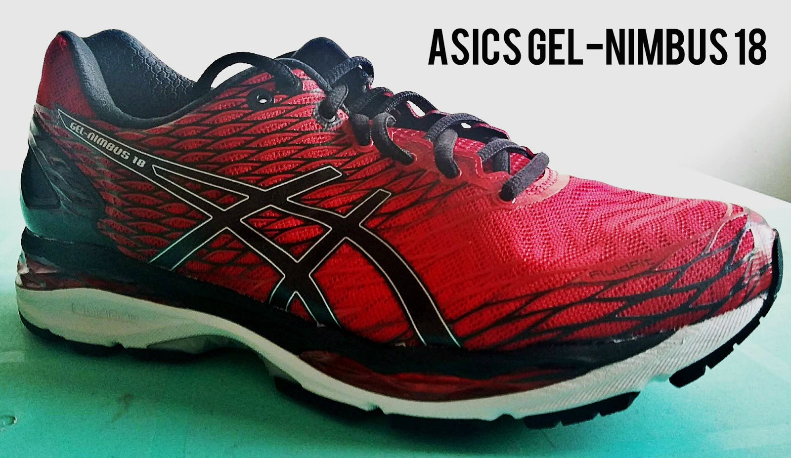 shoe review asics gel nimbus 18 the cloud runner. Black Bedroom Furniture Sets. Home Design Ideas