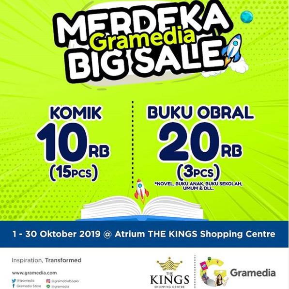 Gramedia MERDEKA BIG SALE: