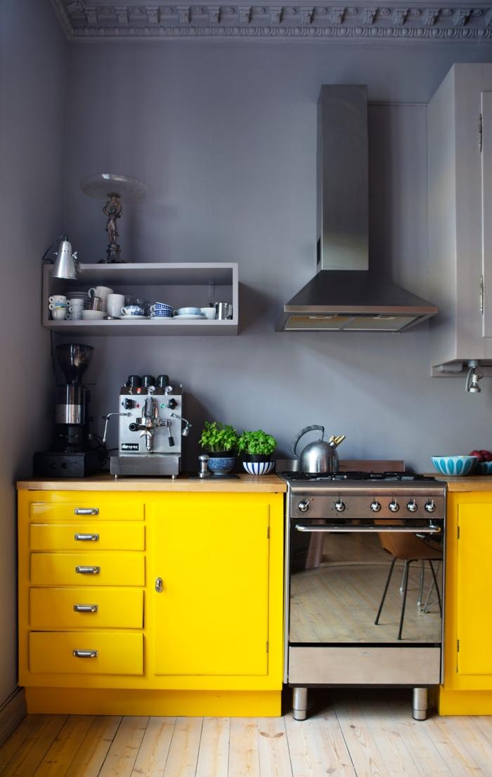 żółta Kuchnia Wnętrza Zewnętrza Blog Wnętrzarski