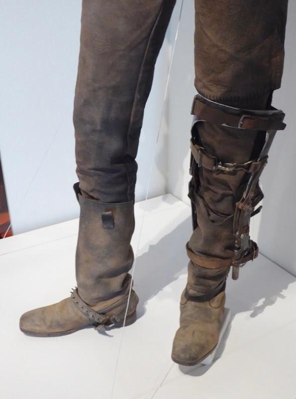 Fury Road Max leg brace boots
