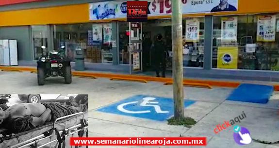 Asalto en tienda de conveniencia deja un herido de bala