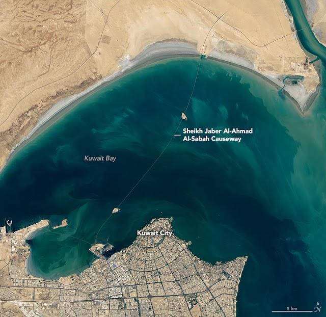 Kuwait's Amazing Sheikh Jaber Al-Ahmad Al-Sabah Causeway to Silk City