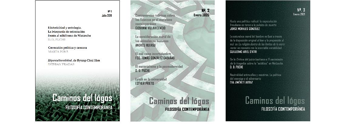 Caminos del lógos. Revista de filosofía contemporánea y crítica cultural.