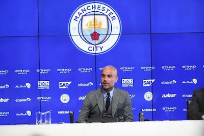 Presentación Guardiola Manchester City