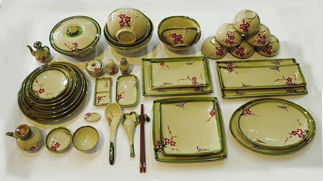 bộ chén (bát), đĩa, nhập khẩu
