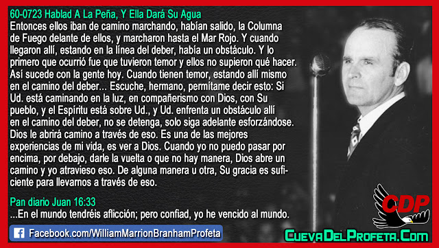 Si tiene temor de algo MIRE ESTO - William Branham en Español