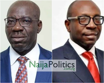 EDO: APC Candidate Ize-Iyamu Begs Obaseki To Return To Party