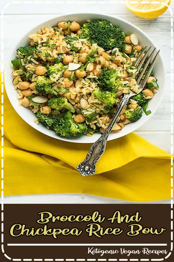 I hope your new year is off to a good start Broccoli & Chickpea Rice Bow