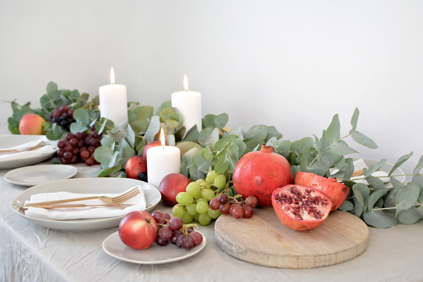 DIY fall / autumn tablescape